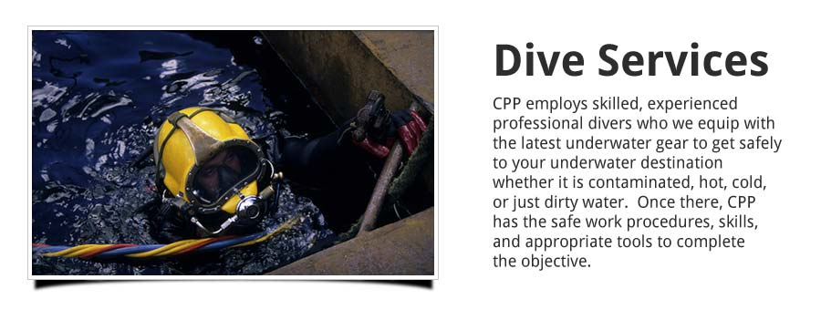 Dive Services Slider